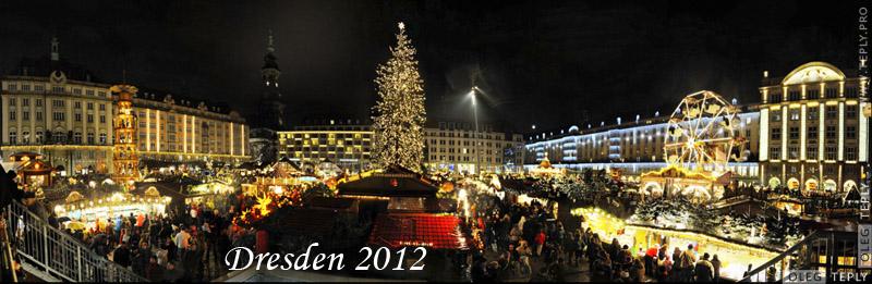 weihnachtsmarkt dresden 2012