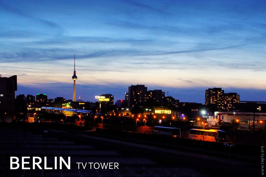 berlin tv tower turm